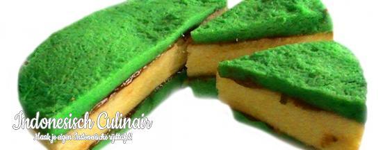 Kue Pandan Lapis | Indonesisch-Culinair.nl