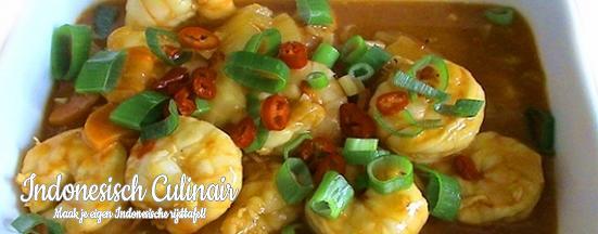Udang Masak Kuning | Indonesisch-Culinair.nl