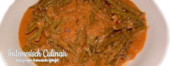 Sambal Goreng Buncis   Indonesisch-Culinair.nl