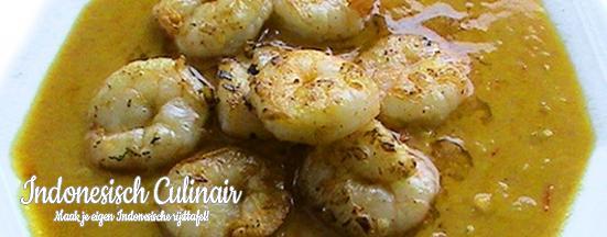 Udang Besar Panggang   Indonesisch-Culinair.nl