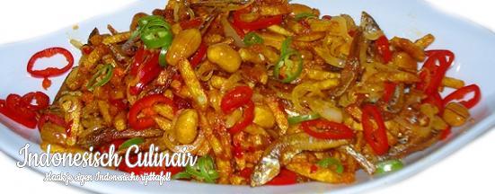 Sambal Goreng Teri dan Kacang Dua | Indonesisch-Culinair.nl