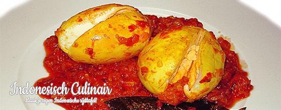 Telor Rendang | Indonesisch-Culinair.nl