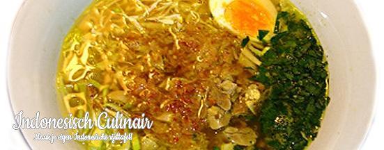 Soto Ayam | Indonesisch-Culinair.nl