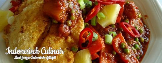 Ikan Goreng Dengan Sayuran | Indonesisch-Culinair.nl