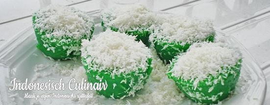 Kue Abu Pandan | Indonesisch-Culinair.nl
