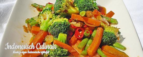 Oseng Sayuran   Indonesisch-Culinair.nl