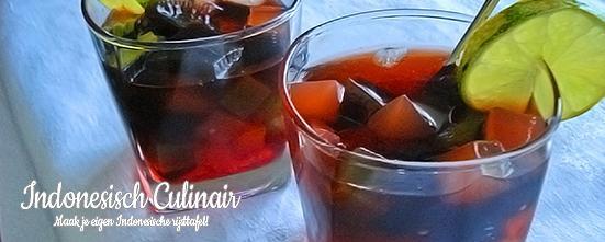 Es Cincau Limau | Indonesisch-Culinair.nl