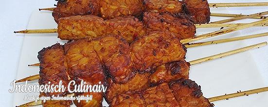 Sateh Tempeh | Indonesisch-Culinair.nl
