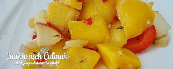 Salad Mangga dan Apel | Indonesisch-Culinair.nl
