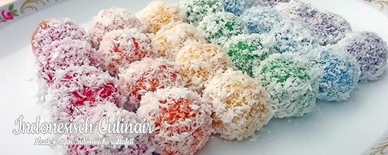 Klepon Pelangi | Indonesisch-Culinair.nl