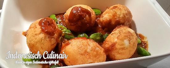 Telor Balado Peteh | Indonesisch-Culinair.nl