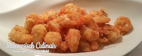 Udang Menggoreng Kelapa | Indonesisch-Culinair.nl