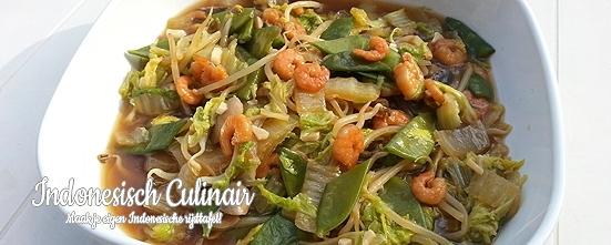Sayur Kol Cina | Indonesisch-Culinair.nl