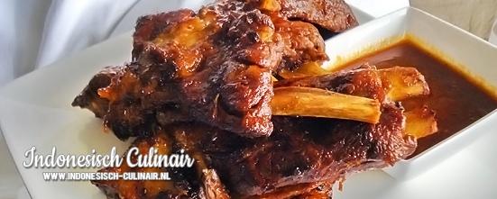 Iga Babi Bakar | Indonesisch-Culinair.nl