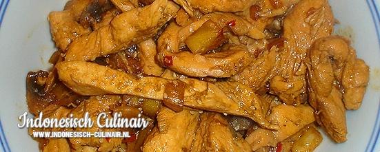 Ayam Nanas Wijen | Indonesisch-Culinair.nl