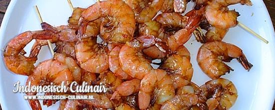 Sateh Udang Dua | Indonesisch-Culinair.nl