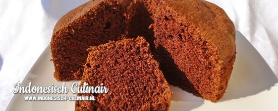 Kue Chiffon Coklat | Indonesisch-Culinair.nl