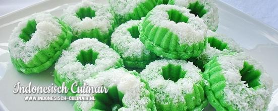 Kue Putu Ayu Dua | Indonesisch-Culinair.nl