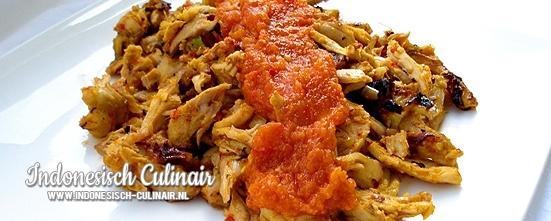 Ayam Pelalah   Indonesisch-Culinair.nl