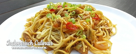 Mie Ayam Surabaya | Indonesisch-Culinair.nl