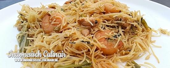 Mihoen Goreng | Indonesisch-Culinair.nl