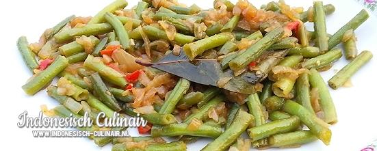 Tumis Buncis | Indonesisch-Culinair.nl