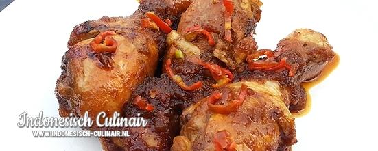 Ayam Masak Ketjap | Indonesisch-Culinair.nl