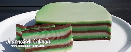 Kue Lapis Tepung Beras Tradisional | Indonesisch-Culinair.nl