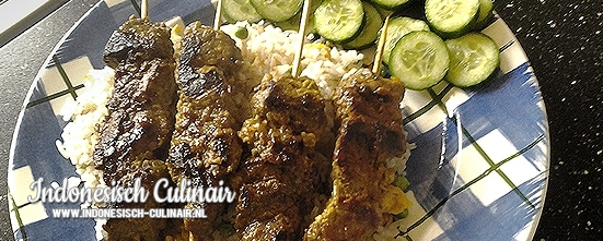 Sateh Bistik Kelapa | Indonesisch-Culinair.nl