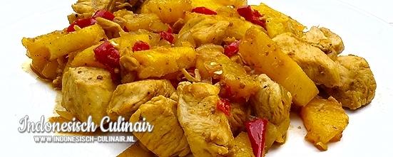 Ayam Nanas Pedis | Indonesisch-Culinair.nl