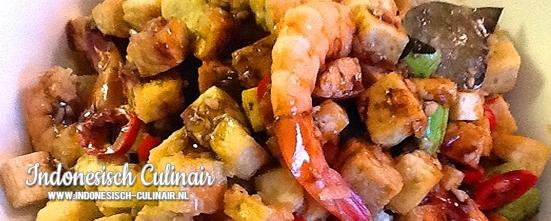Sambal Goreng Tahu Tempeh | Indonesisch-Culinair.nl