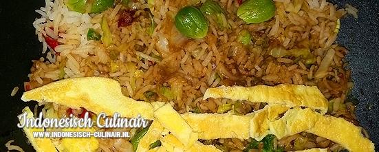 Nasi Goreng Peteh | Indonesisch-Culinair.nl