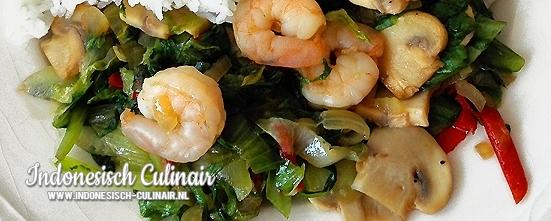 Tumis Andewi | Indonesisch-Culinair.nl