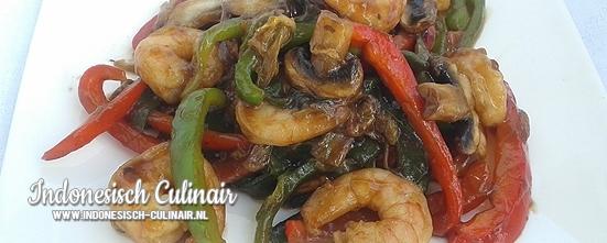 Mencampurkan Sayur Cina | Indonesisch-Culinair.nl