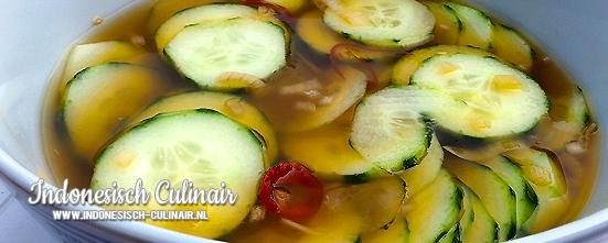 Acar Ketimun | Indonesisch-Culinair.nl