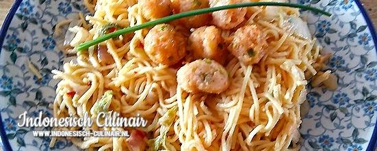 Mie Goreng Atjeh | Indonesisch-Culinair.nl