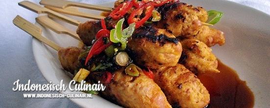Sateh Lilit | Indonesisch-Culinair.nl