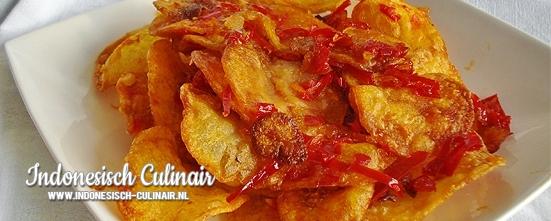 Kentang Balado | Indonesisch-Culinair.nl