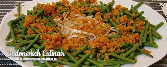 Kacang Panjang Sambal Kelapa | Indonesisch-Culinair.nl